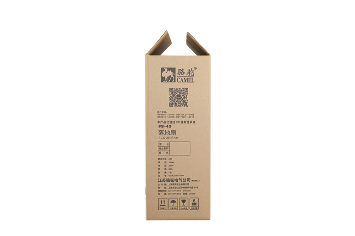 落地电风扇包装箱81