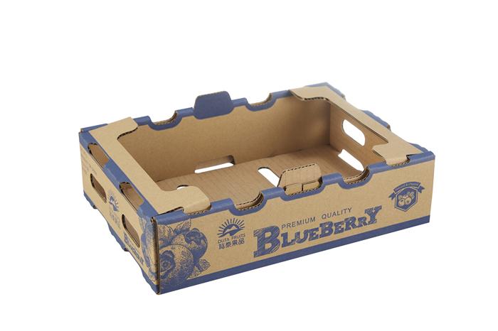 单色异形水果包装盒定制印刷88