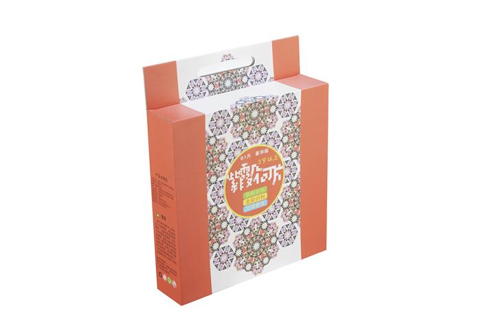 彩色玩具包装盒定做印刷