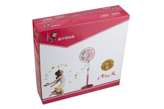 彩色落地扇包装箱纸箱91